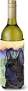 French Bulldog Wine Bottle Beverage Insulator Beverage Insulator Hugger SS8257LITERK