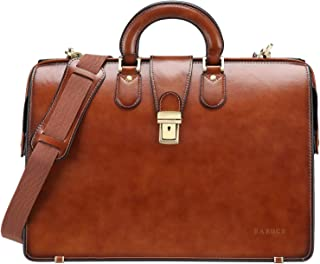 leather briefcase lawyer bag