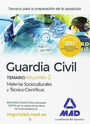 Guardia Civil Temario para la Preparación de Oposición: Guardia Civil. Temario 2, ciencias jurídicas