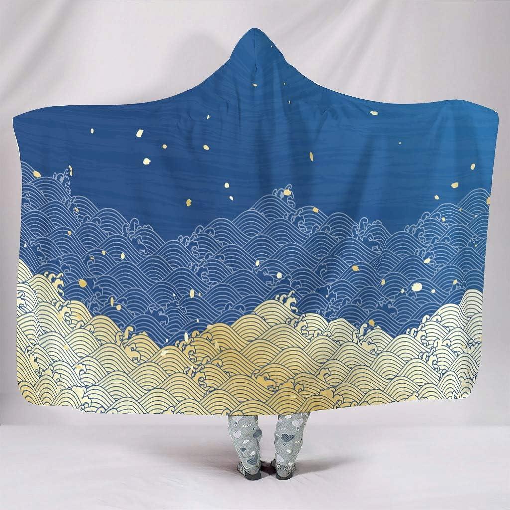 Hooded Blanket Japan Wave Ultra Hoodie Plush Soft 2021 new Weekly update