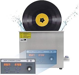 CGOLDENWALL PS-30AL 6L Nettoyeur À Ultrasons Pour Disques Vinyles Puissance Adjustable 70-180W Minuteire 0-30 mins Pour 7/...