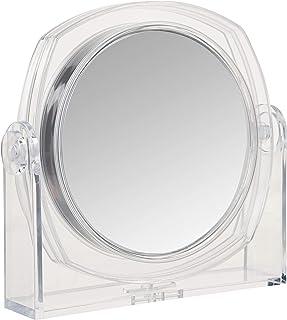 Rucci Clear Vanity Mirror, 1X/10X