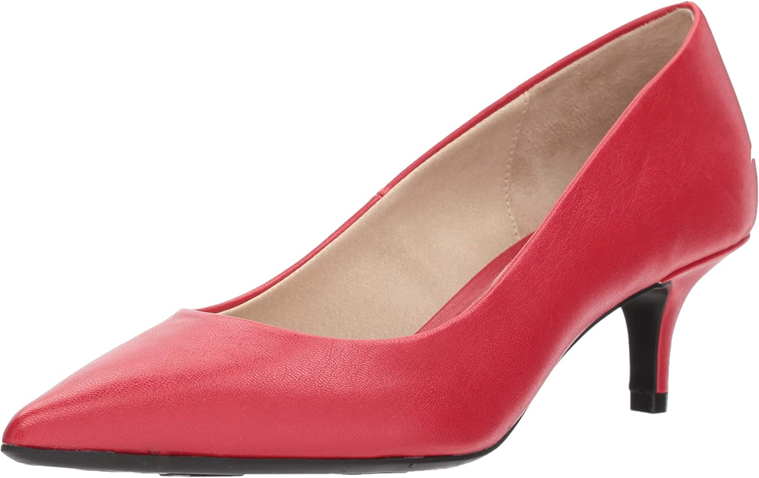LifeStride Womens Pretty Low Heel Pump Pump