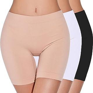 Tuopuda Pantaloncini Sottogonna Donna Leggings Corti Sportivi Fitness Shorts Elasticizzati Vita Alta Pantaloncini sotto Ve...