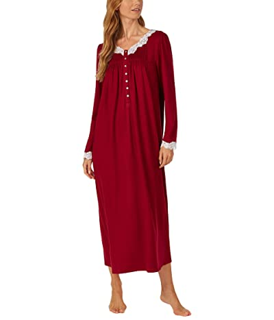 Eileen West Sweater Knit Ballet Nightgown (Wine) Women