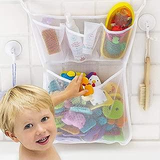 Ogquaton Baby Bath Net Storage Organizer Bag Mesh Toy Storage Bag Cosas de baño Tidy Organizer Net Durable y útil