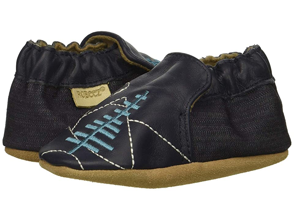 Robeez Mountain Explorer Soft Sole (Infant/Toddler) (Navy) Boy