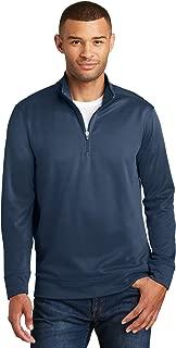 Port & Company Mens Performance Fleece 1/4-Zip Pullover Sweatshirt (PC590Q)