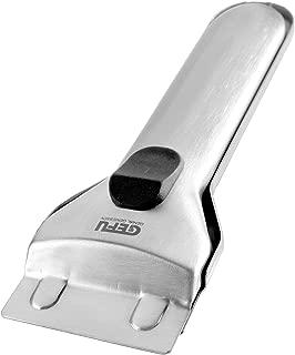 Gefu 12450 - Rascador de acero para limpiar vitrocerámica