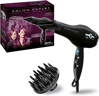 Imetec Salon Expert P4 2500 ION - Secador de pelo profesional, tecnología de iones, revestimiento de la rejilla en cerámica y turmalina, 8 combinaciones de aire y temperatura