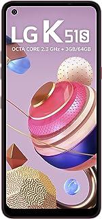 Smartphone LG K51S, 3GB/64GB, 32MP, Vermelho