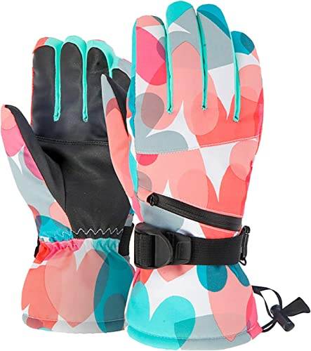 2021 OPTIMISTIC Ski Gloves for Men,Warm sale Winter Snow Skiing Windproof Gloves with wholesale Long Cuff for Outdoor Cycling Snowboarding Skiing,Waterproof & Windproof, ScreenTouch Design outlet online sale