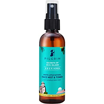Pilgrim Alcohol Free Face Toner, Face Mist For Pores Tightening, Glowing Skin, Dry, Oily, Combination, Acne Skin, Korean Beauty Secrets, 100ml