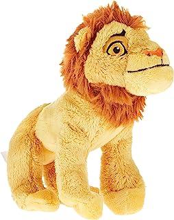 Disney Plush Lion King Adult Simba, Yellow, 7inch