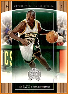 ca68eac341c5 2004-05 SkyBox Fresh Ink  16 Ray Allen SEATTLE SUPERSONICS CONNECTICUT  HUSKIES UCONN