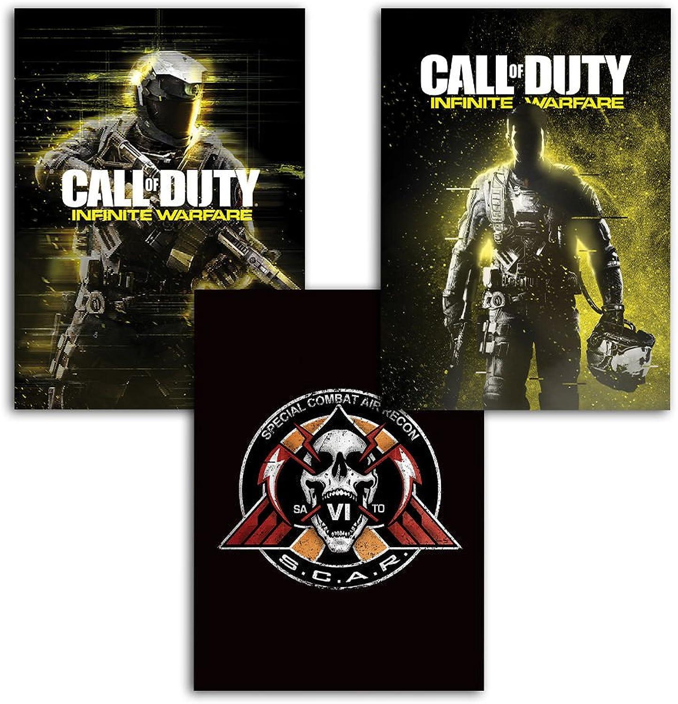 HUGE CRATE  Box Call of Duty Infinite Warfare   P.Derive