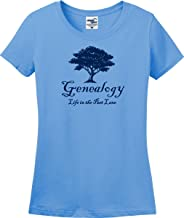 Life in The Past Lane Genealogy Ladies T-Shirt (S-3X)