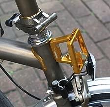 A C E Front Carrier Block For BROMPTON GOLD Super Lightweight Aluminum