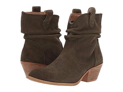 Dingo Jackpot (Olive) Cowboy Boots