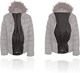 Zip Us In Jacket Expander Panel – Extension to Turn The Coat You Love Into a Maternity or Baby-Wearing Jacket Double Coil Zip YKK 5CNt (Two Pull Sliders)