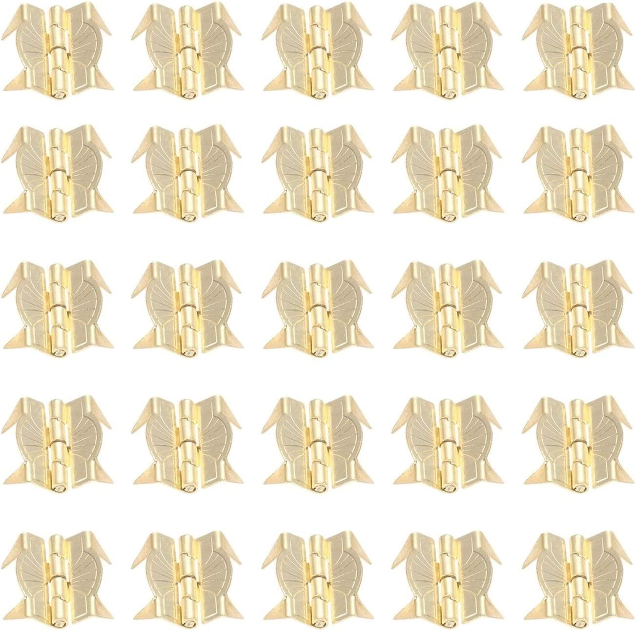 Small Ranking TOP9 Retro Decorative Bolt 50Pcs Door Popular popular Yellow Lugg Cabinet Metal