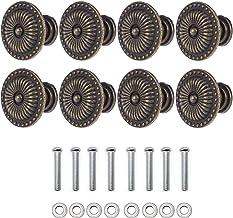 YFaith 8 stuks pull-greepknopen, meubelknoppen, antieke knop, lade kast pull handvat, retro kastgreep, met schroef, voor k...
