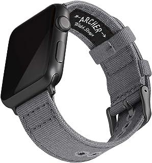 Archer Watch Straps Bracelet de Montre en Toile pour Homme et Femme Bracelet de Rechange Canvas Couleurs Multiples 18mm, 20mm, 22mm