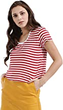 Koovs, Round Neck T-Shirt For Women