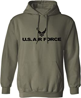 Air Force Hooded Sweatshirt in Military Green