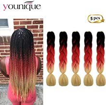Best 82 inch ombre braiding hair Reviews