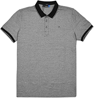 M Regis Slim Lux Stripe Jersey Golf Polo