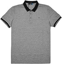 J.Lindeberg M Regis Slim Lux Stripe Jersey Golf Polo