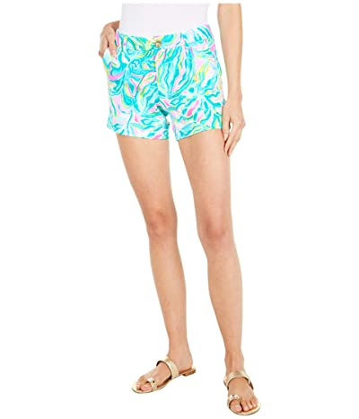 Lilly Pulitzer Callahan Knit Shorts (Multi One In A Melon) Women