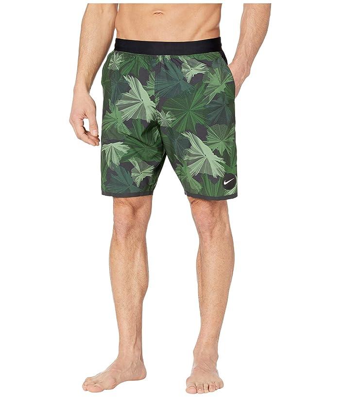 Nike  9 Global Camo Blade Volley Shorts (Galactic Jade) Mens Swimwear