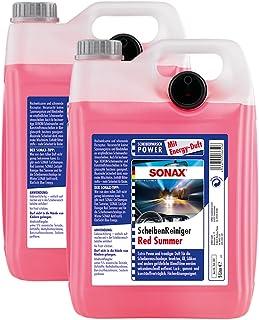 2 garrafas de líquido de limpiaparabrisas Red Summer Energy, de Sonax, 02665000, 5 litros por garrafa