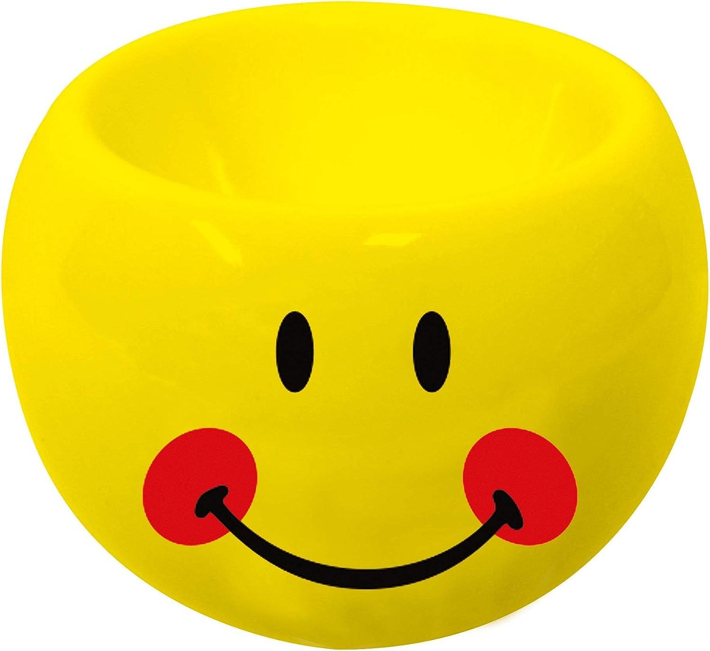 Smiley mit roten wangen