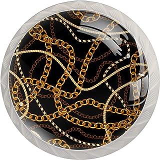 Poignées de Tiroir pour armoire,tiroir,coffre,commode,etc.. Chaînes d'or