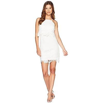 BB Dakota Bryn Bodycon Lace Dress (White) Women