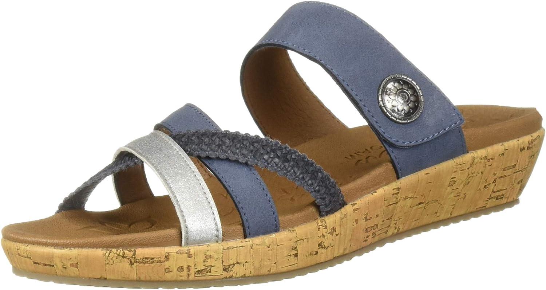 Skechers Womens Brie - Multi Strap Slide Slide Sandal