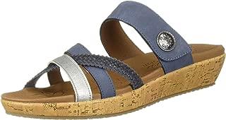 Women's Brie-Multi Strap Slide Sandal