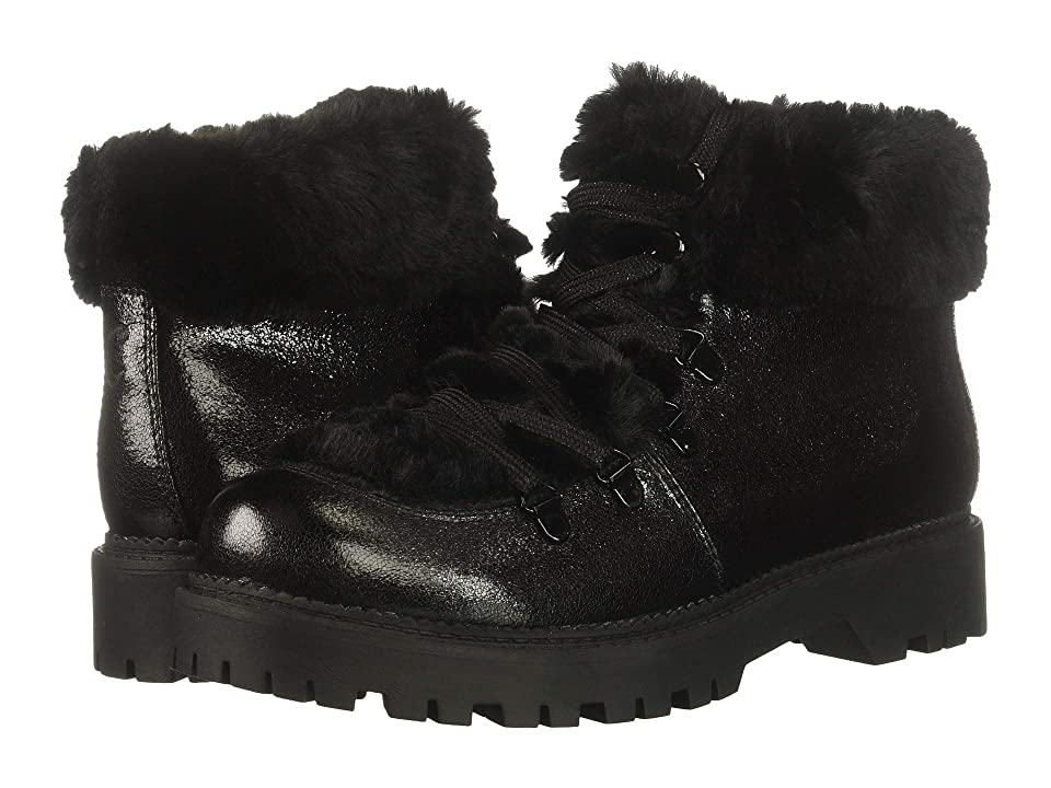 Circus by Sam Edelman Kilbourn (Black Cosmic Crackle/Plush Faux Fur) Women