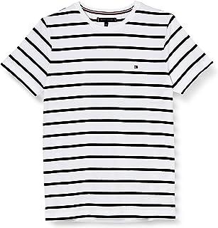 Tommy Hilfiger T- Shirt Ajusté en Coton Bio Stretch Sport Homme