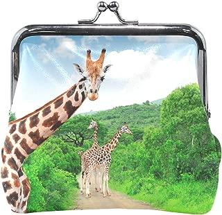 Coin Purse Giraffe Summer Womens Wallet Clutch Bag Girls Small Purse