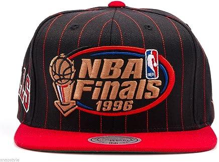 a70f9369c8b Mitchell   Ness Bulls 1996 NBA Finals Patch Snapback Hat