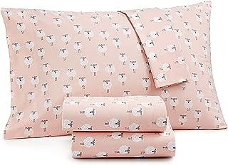Martha Stewart Whim Collection Sheep Queen Bedsheet set