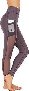 GD Fashion Women Yoga Leggings Side Mesh Pockets Pants Full Length Capri and Shorts
