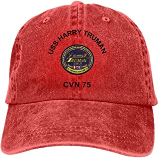 Adjustable Hip Hop Flat-Mouthed Baseball Caps EUYK77 D-Day 75 Year Anniversary Mens and Womens Trucker Hats