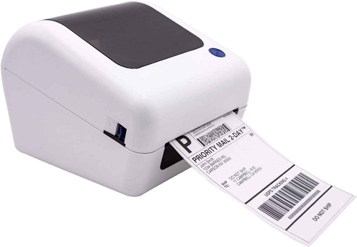 Dododuck BY-245 | Commercial Grade High Speed Thermal Label Printer for 4X6 Labels | USB Version | Compatible with Windows, MacOS, Linux, Android and iOS Systems