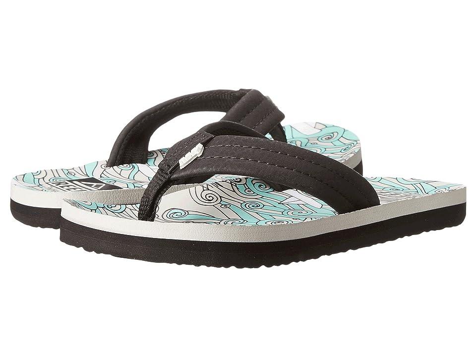 Reef Kids Ahi (Infant/Toddler/Little Kid/Big Kid) (Blue Sailboats) Boys Shoes