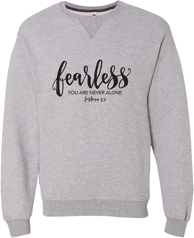 Blessed Girl Women's Christian Sweatshirt Fear Less